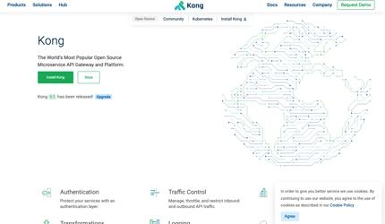 API ゲートウェイ (Kong) の導入