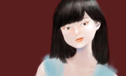 リアル調で力強い女の子イラスト作成します