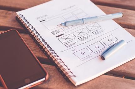 ワイヤーフレーム・サイト構成案の作成|AdobeXD対応