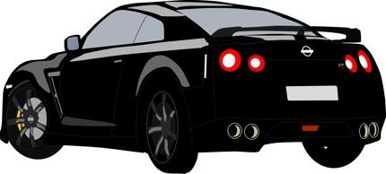 自動車イラスト作成