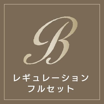 Bコース/ロゴレギュレーション・フルセット