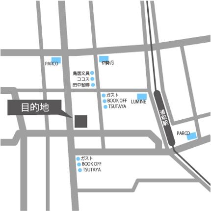 住所からシンプルな地図を短期で納品致します。