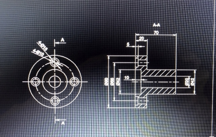 2D図面をCADで書きます。(トレース・機械・土木・配管・スプール図面)