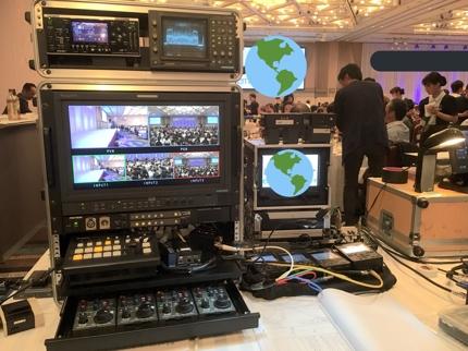 マルチカメラ収録システムレンタル(4カメセット)