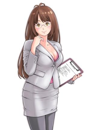 製品・サービスPRのためのオフィス女子キャラクター