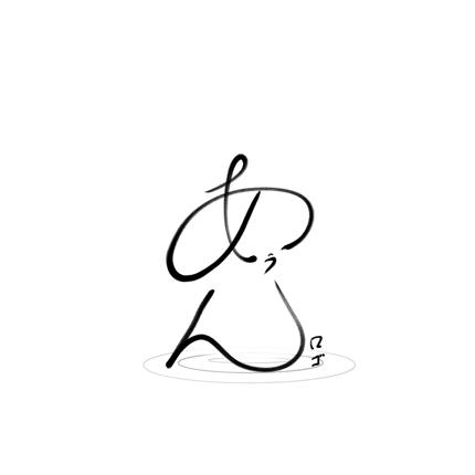味のある筆ロゴ (居酒屋、和食など!!)