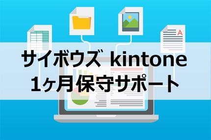 サイボウズ kintone 1ヶ月保守サポート