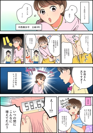 【美容・ダイエット】女性に向けたLP漫画