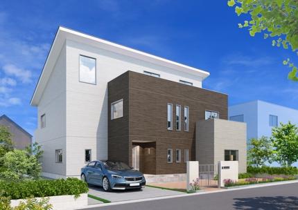 戸建て住宅のパース制作