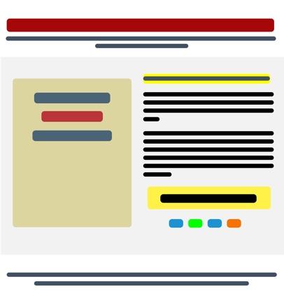 シンプルなランディングページの作成