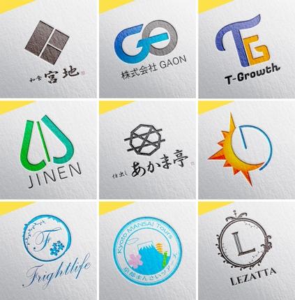 シンプルかつ上質なロゴを制作します
