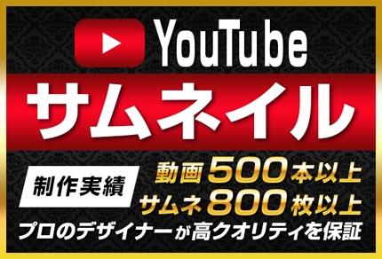 YouTube動画サムネイルの作成
