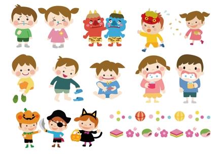 子ども向けのかわいいイラスト