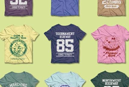 Tシャツプリント用の図案