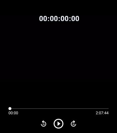 映像にタイムコードをつけます。