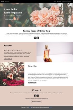 【お店・ご自身のブランドサイト】お手頃価格・10日でデザイン&制作します