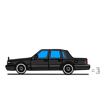 車のイラスト作成