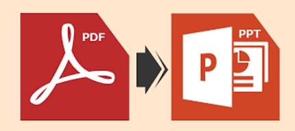 PDFをパワーポイントに書き直します