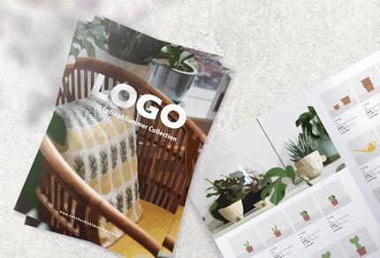 魅力的に届ける商品カタログを作成 <修正・納期に柔軟対応>