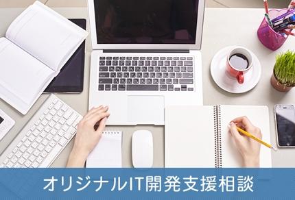 オリジナルIT開発支援相談