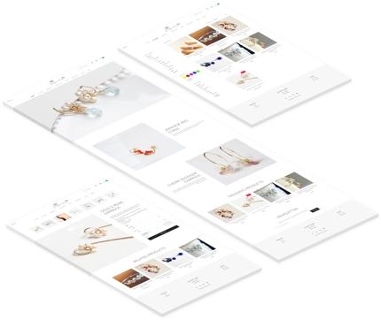 コンバージョン率を意識した素敵なECサイト(Shopify)を制作代行致します