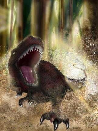 恐竜イラストお描きします