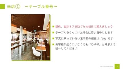 飲食店マニュアル作成代行