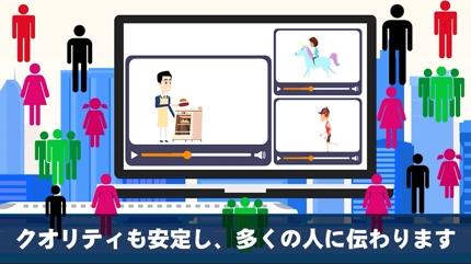 アニメーション動画制作(自己紹介、企業紹介など)