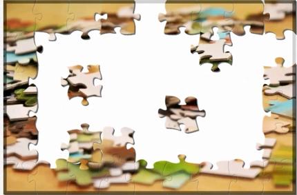 パズル完成 手伝います