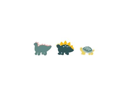 【SNSに】手描き風ゆるい動物イラスト【アイコン画像】