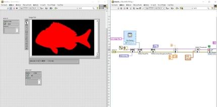 LabVIEW開発委託、画像処理等