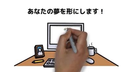 ホワイトボードアニメーションで広告動画やセミナー用動画作ります