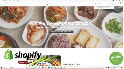 ECサイト構築・導入~運用サポート(shopify)