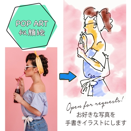 オリジナル似顔絵イラスト制作