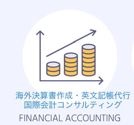 海外の会計ソフト入力・英文決算書作成・記帳代行・国際会計コンサルティング