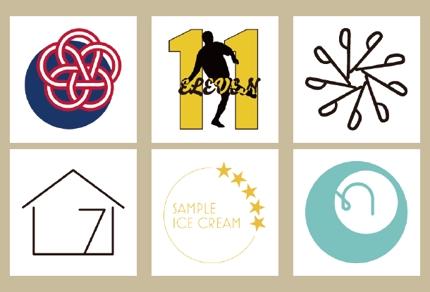 シンプル・ミニマルなデザインのロゴを作成します