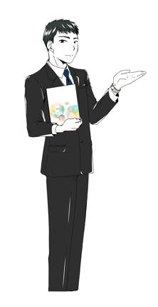 【等身大】キャラクターデザイン