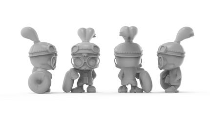 3Dプリント等に使用出来るハイクオリティな3Dデータ制作(ZBrush)