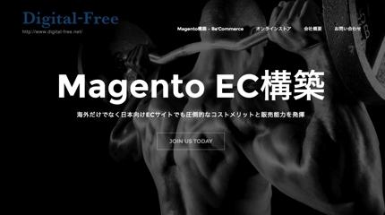 ECサイト Magento構築