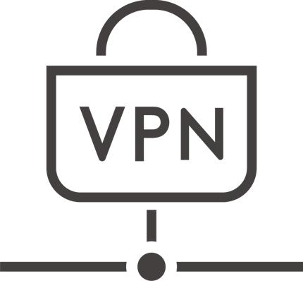 自宅など社外から会社に接続するためのプライベートネットワーク (VPN) 構築