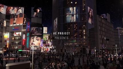 MY 東京風のハメ込み型のCM動画を制作致します