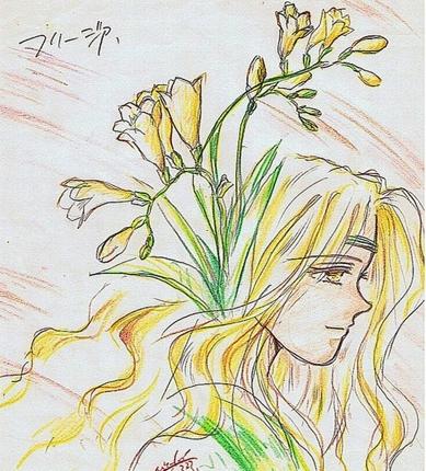花や木々のイメージイラスト描きます!