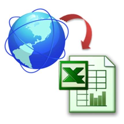 ExcelにてWebサイトの情報を取り込み使えるデータにする