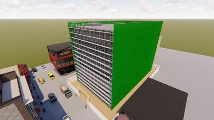 元現場監督の建築士、建築施工管理技士が総合仮設・足場・型枠等の仮設計画図を作成