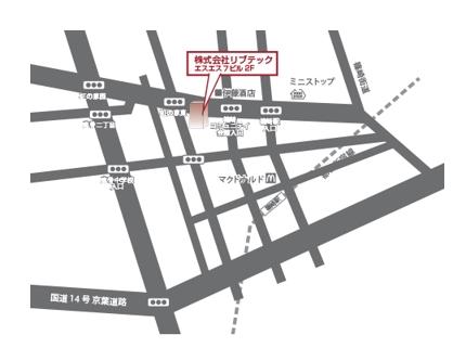 イラレで地図を制作します。
