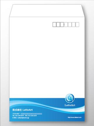 封筒デザイン製作