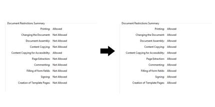 PDFのパスワードのリセット(1000枚ほど)