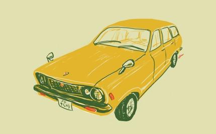 車のイラスト描きます