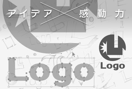 【ロゴ制作】ただ綺麗・お洒落なだけのロゴではなくアイデアと感動力のあるデザイン