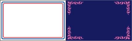 名刺・カードデータ作成 片面¥1000